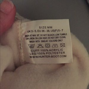 Hunter Accessories - NWOT Hunter boot socks!